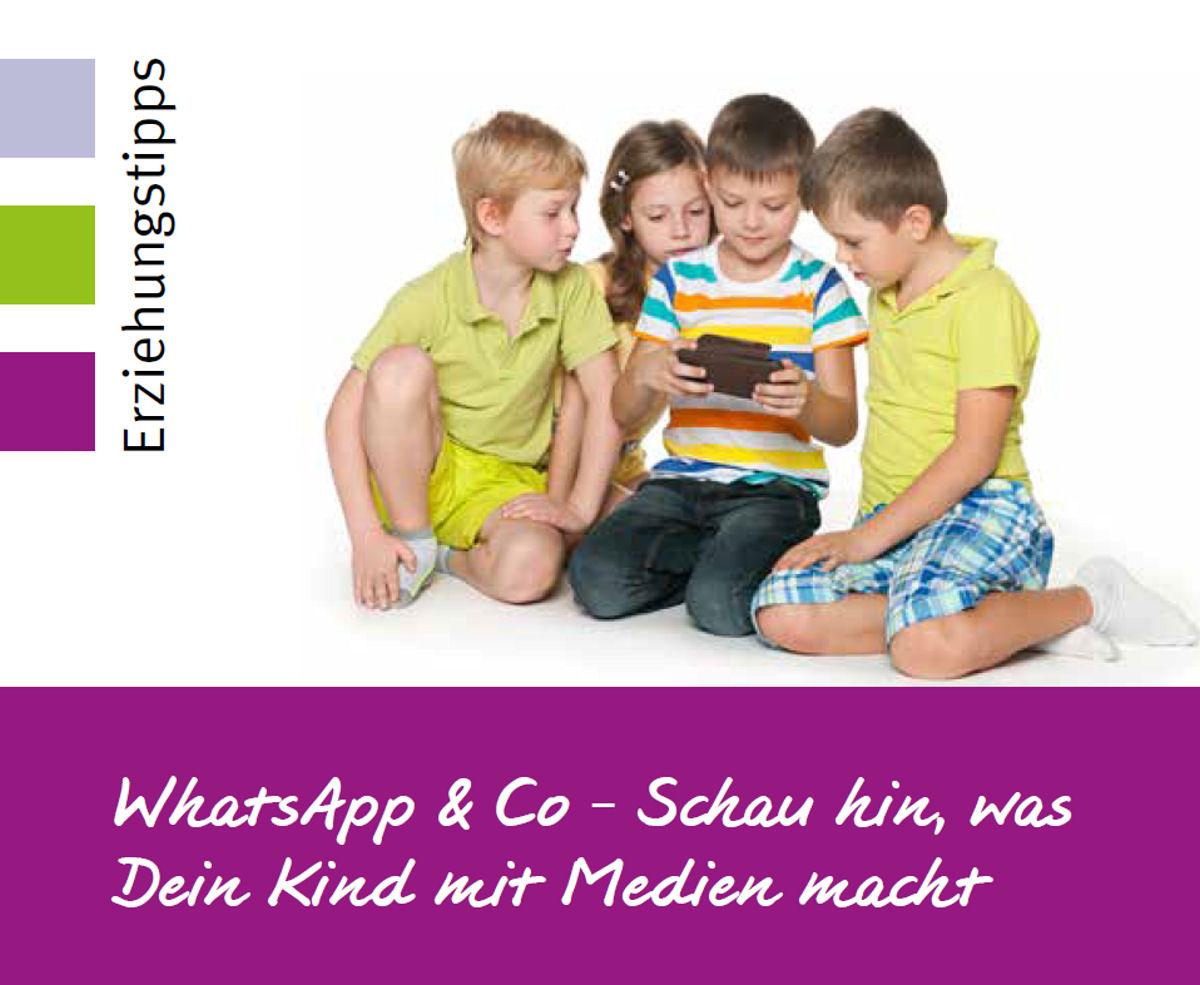 Der Umgang mit den neuen Medien ist Thema der Elternkompass-Reihe am 3. Dezember. Grafik: Stadt Wertheim