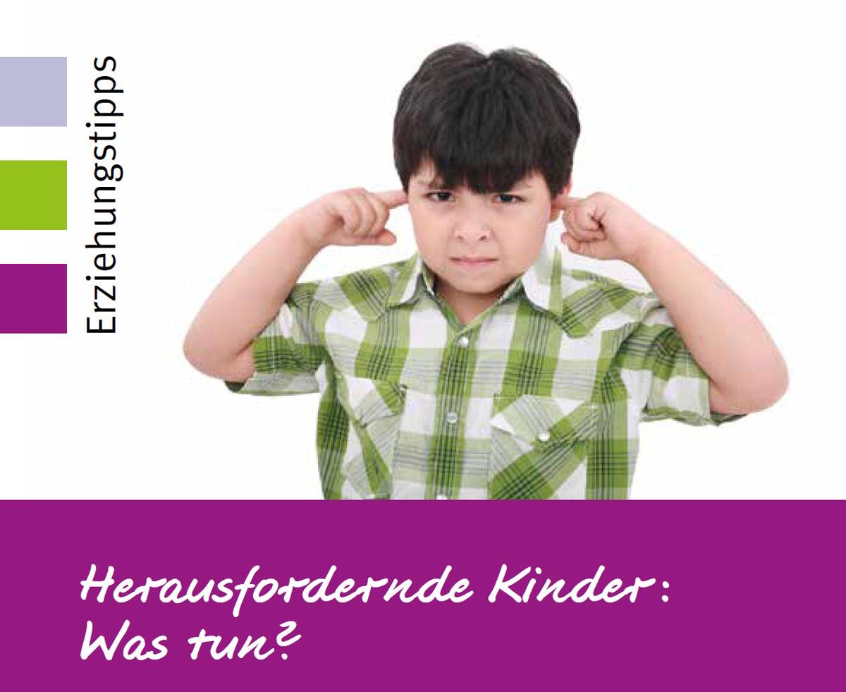 Der Umgang mit herausfordernden Kindern ist Thema der Elternkompass-Reihe am 17. Januar. Grafik: Stadt Wertheim
